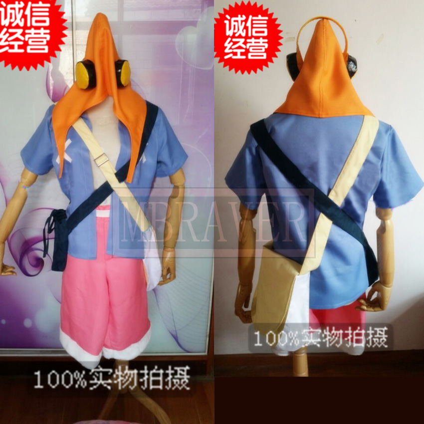 One Piece Movie Strong World Luffy Cosplay Costume Any