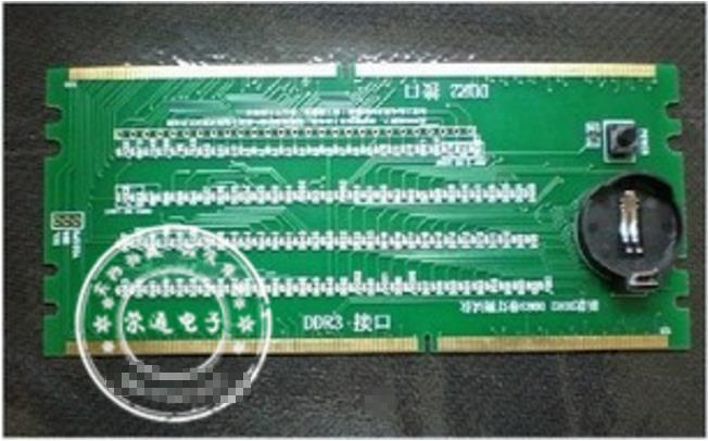 1 STÜCKE DDR2 DDR3 beleuchtet mit licht tester tester combo desktop Auf Lager