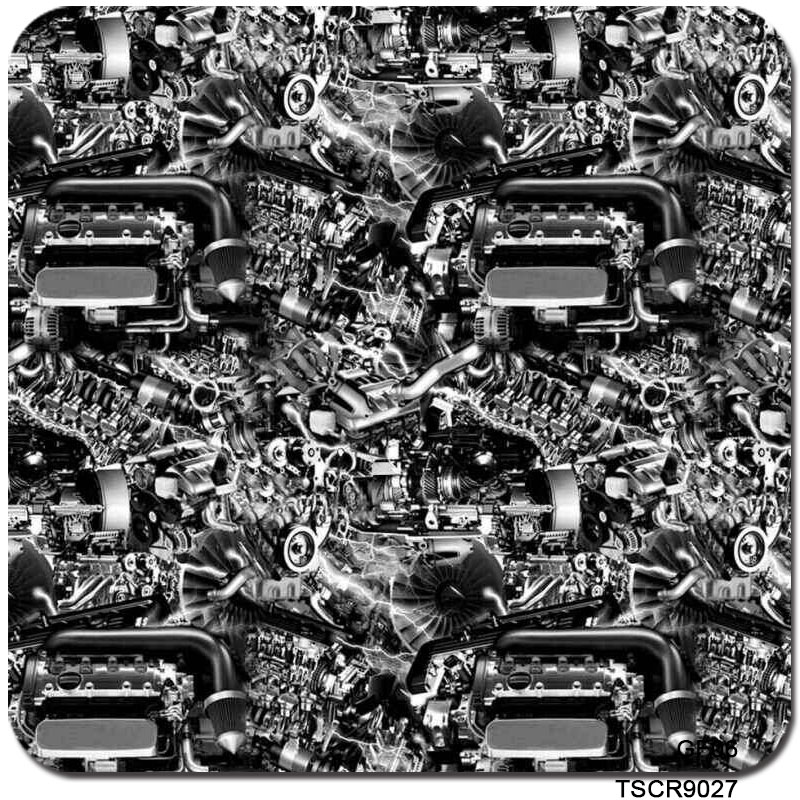Motorrad-zubehör Vornehm Freies Verschiffen Tscr9027 0,5*2 Mt/10 Mt Pva Wasser Tauch Druck Motor Muster Hydrographie Film Wasser Transfer Film 100% Garantie