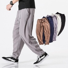 2018 ropa de otoño pantalones de algodón Harem pantalones hombres Joggers hombres  pantalones masculinos calle hip hop pantalon h. 9e832a41917