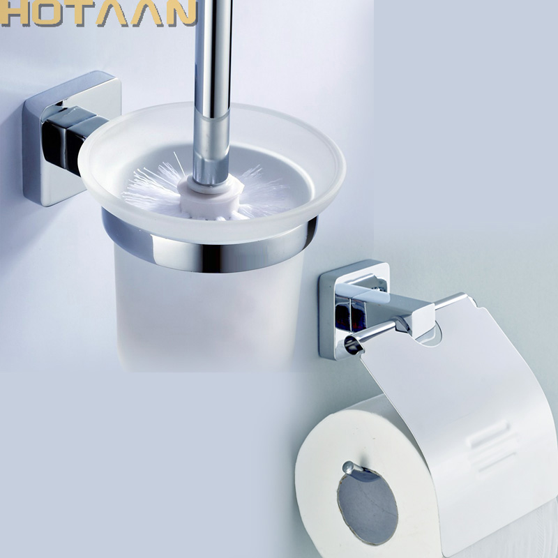 Free Shipping Stainless Steel Bathroom Accessories Set