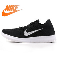 Official Authentic NIKE FREE RN FLYKNIT Women's Running Shoes Sneakers Outdoor Walking Jogging Sneakers Comfortable Durable