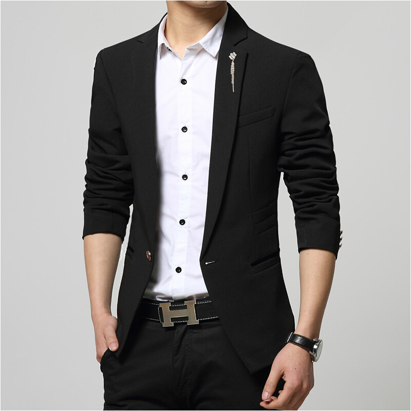 Online Buy Wholesale slim fit black blazer from China slim fit