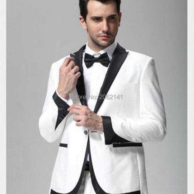 Men White Blazer Photo Album - Reikian