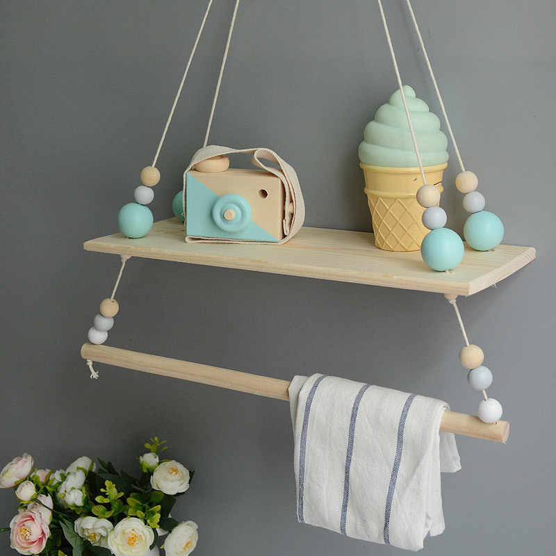 Hanging Clothes Rack Bookshelf