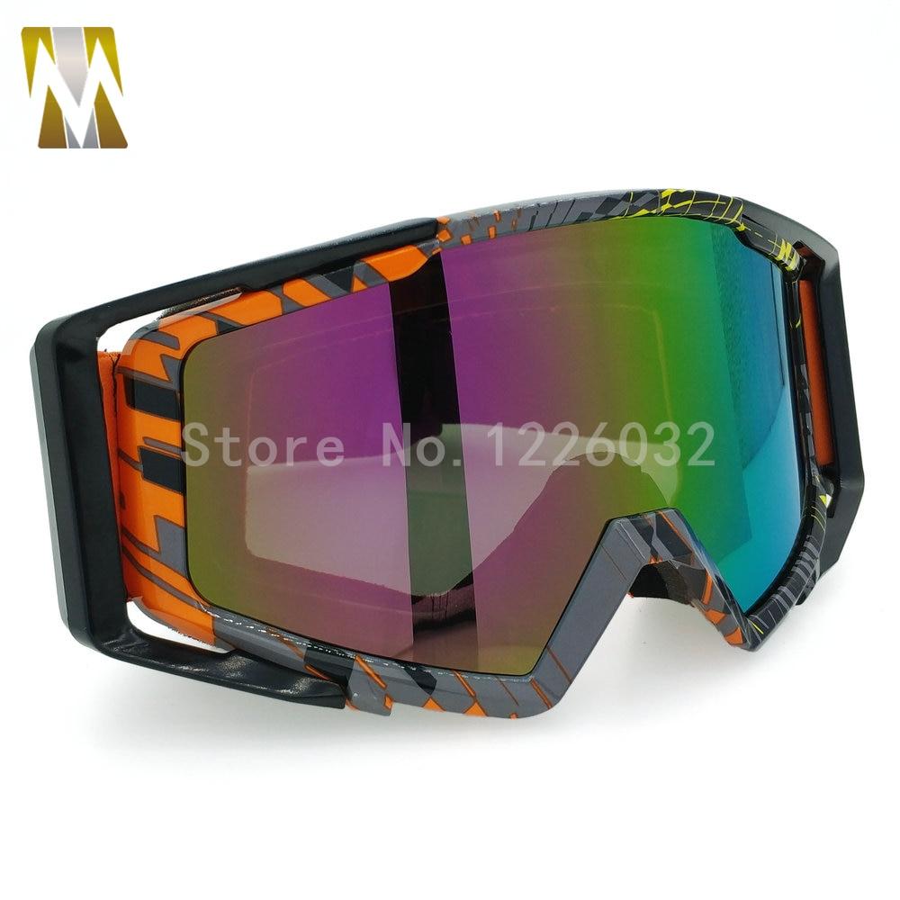 ახალი Motocross სათვალე UV400 მოტოციკლეტის ველოსიპედით სათვალეები სათვალეები მუზარადი MX Motocross მოტოციკლი ჯვრის ქვეყანა მოქნილი Gafas