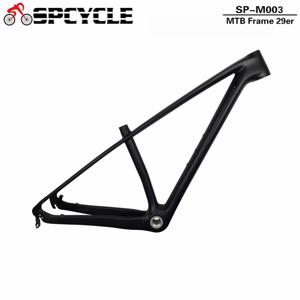 SmileTeam Carbon Mountain Bike Frame 29er Chinese Carbon mtb Bicycle Frame T1000 Carbon Fibre Frame 29er carbon frame 27.5er 17 inch mtb bike raw frame 26 aluminium alloy mountain bike frame bike suspension frame bicycle frame