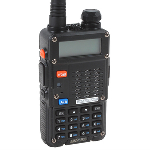 Image 3 - 100% Baofeng UV 5RT المتقدمة اتجاهين راديو مع قابلة للشحن 1800MAh بطارية ليثيوم أيون UHF VHF جهاز الإرسال والاستقبال UV5R راديو Comunicador