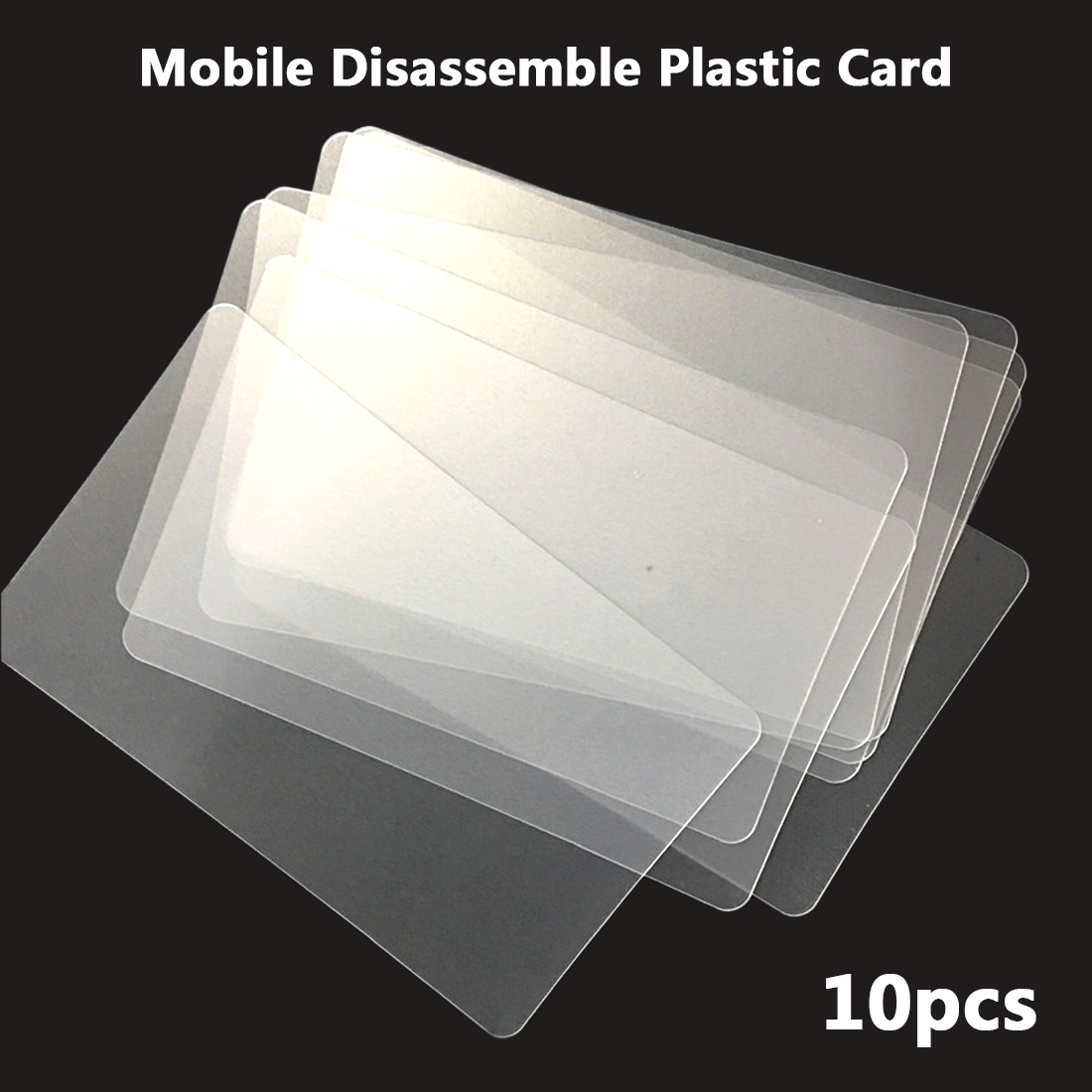 цена на Repair Tool 10pcs Handy Plastic Card Pry Opening Scraper for iPhone iPad Tablet for Samsung Mobile Phone Glued Screen Hand Tools