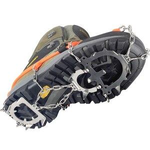 Image 5 - YUEDGE pinces à neige universelles 12 dents antidérapantes, pinces à neige, pinces pour chaussures, raki na buty