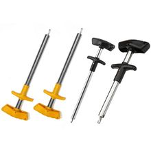 1 Pc T type Portable Aluminium fish hook removal tool Aluminum Fish Hook Remover Extractor Puller Squeeze Out Tool