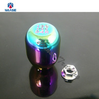 Car 5 Speed MT Manual Gear Shift Knob NEO Chrome For HONDA ACURA Civic Integra CRX