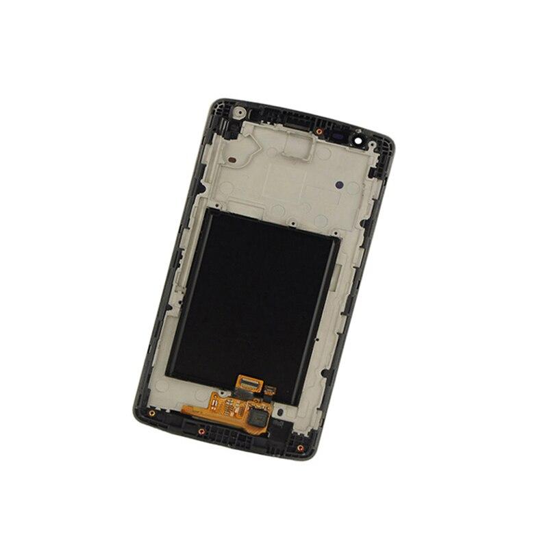 imágenes para Monitor de Pantalla LCD Módulo de Panel de la Pantalla + Pantalla Táctil negro Asamblea del digitizador + Frame Para LG optimus G3 mini D722 D724