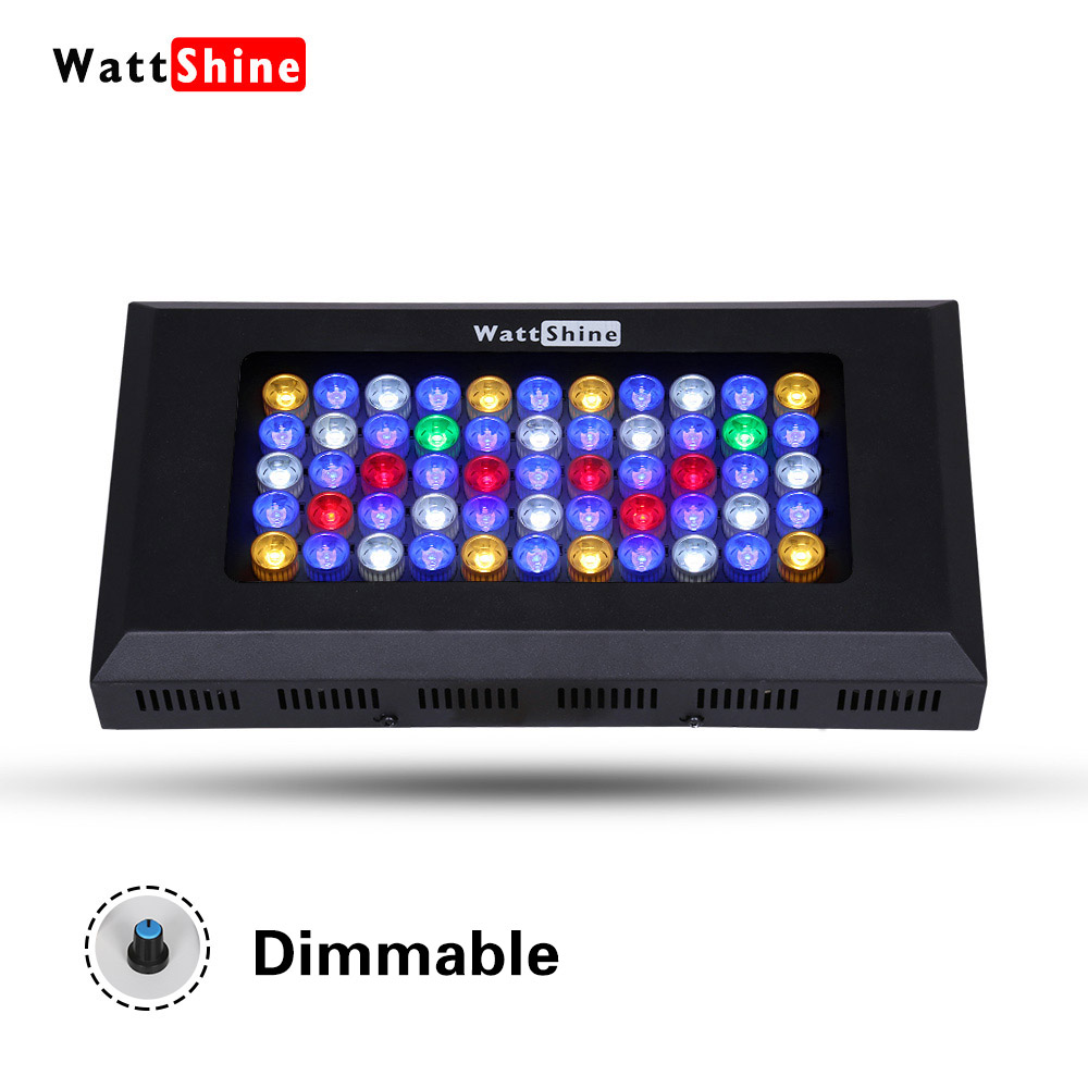 The newest and most competitive model Free Shipping 165W led aquarium light for reef marine tank with 3 years warranty