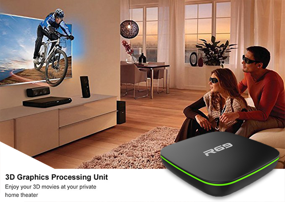 5pcs New R69 2GB 16G Android 7.1 Smart android tv box Allwinner H3 quad core 1GB 8GB 2.4G wifi set top box pk X96 media player