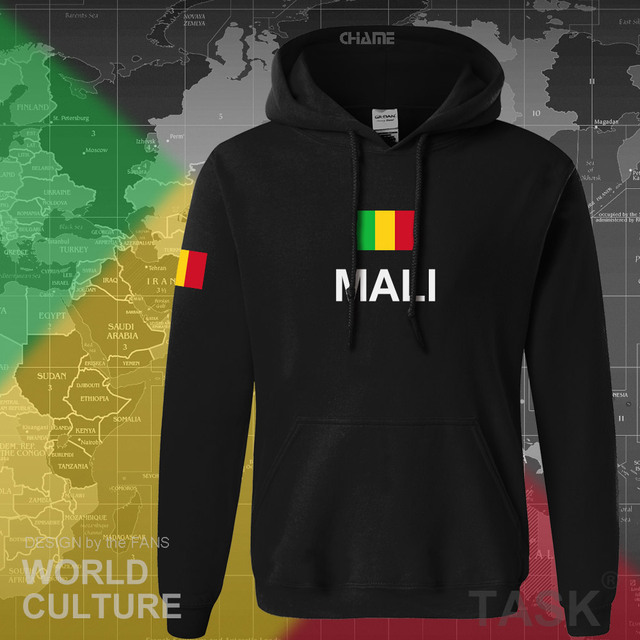 Republic of Mali hoodie men sweatshirt sweat new hip hop streetwear tracksuit nation footballer sporting country MLI Malian
