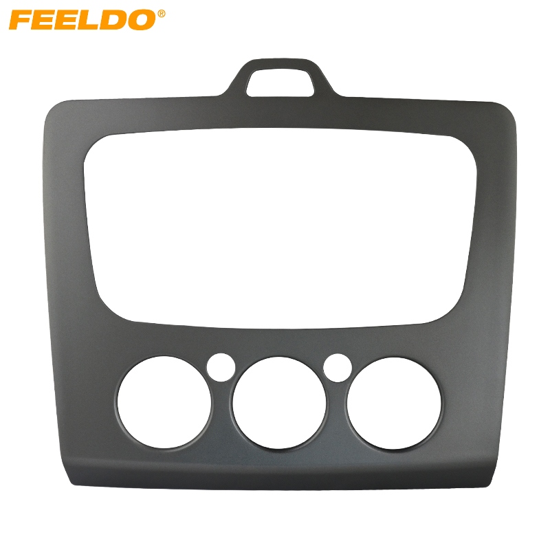 feeldo car radio stereo dvd frame fascia dash panel for ford focus mk2 05 07 into mk2 5 09 13. Black Bedroom Furniture Sets. Home Design Ideas