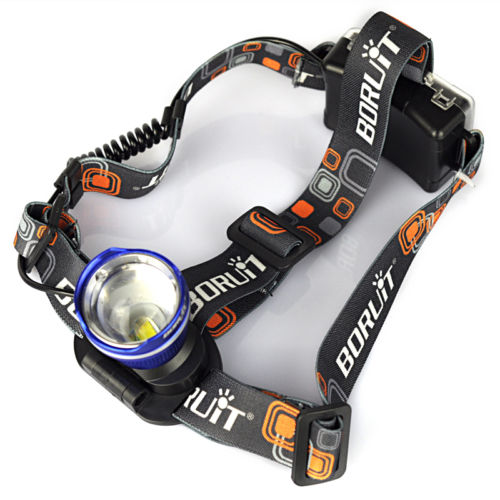 2000LM XM-L T6 LED Headlamp Zoomable Headlight Head Torch Lamp Light Flashlight