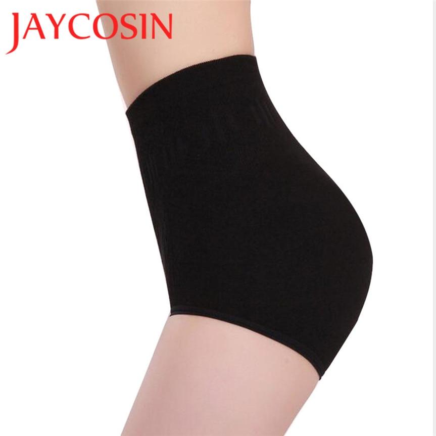 Jaycosin negro sexy Womens alta cintura abdomino control Cuerpo Shaper Bragas brief adelgazamiento Pantalones regalo DEC 6 nave de la gota
