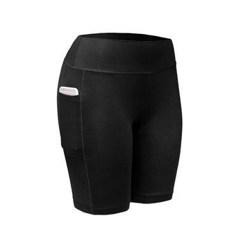 Mulheres verão Shorts De Compressão de Secagem rápida Magro Respirável Elástica Skinny Stretchy Sólidos Calças Curtas Mulheres de Fitness Fêmea Seca