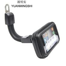 Motorcycle Phone Holder Mount Support GPS Navigation Bracket Smartphone