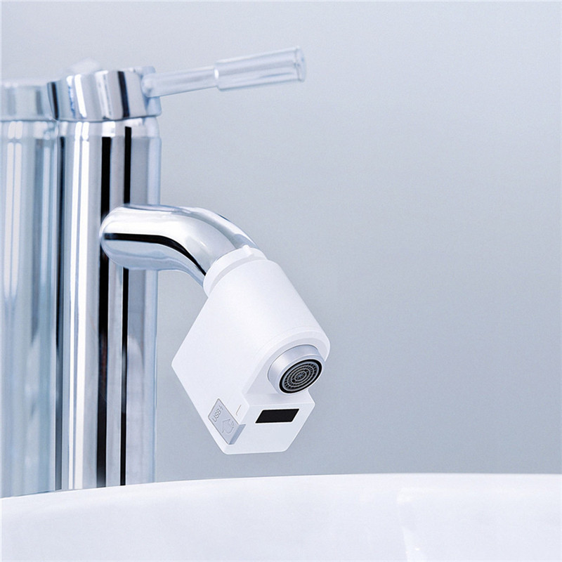 lowest price Youpin xiaoda Smart Sensor Faucet Infrared Sensor Automatic Water Saver Tap Anti-overflow Kitchen Bathroom Inductive Faucet