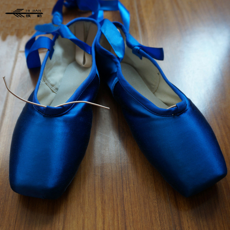 Ballet Dance Wear Pointe shoes colorful white black red yellow blue green+Dance Shoes Bag /Dance Shoes picasso and dance paris opera ballet