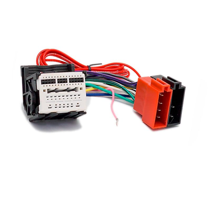 New 2018 Car ISO Radio Adapter Connector For Chevrolet Cruze Opel Astra TRAX Insignia Meriva(China)
