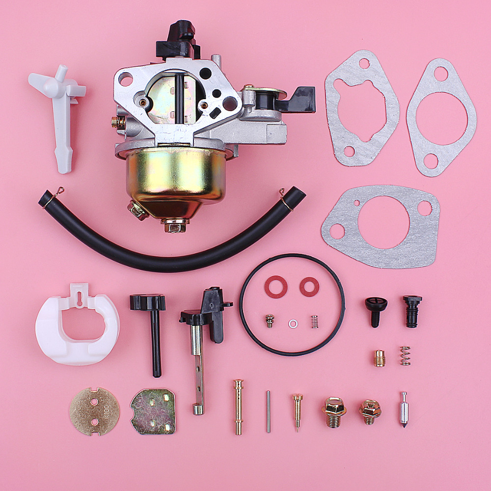 Carburetor Carb Gasket Repair Rebuild Kit For Honda GX390 13HP GX 390 Lawn Mower Engine Motor Part Fuel Line Choke Rod outlaw racing or2542 carburetor carb complete master repair rebuild kit honda crf50 crf50f xr50 xr50r