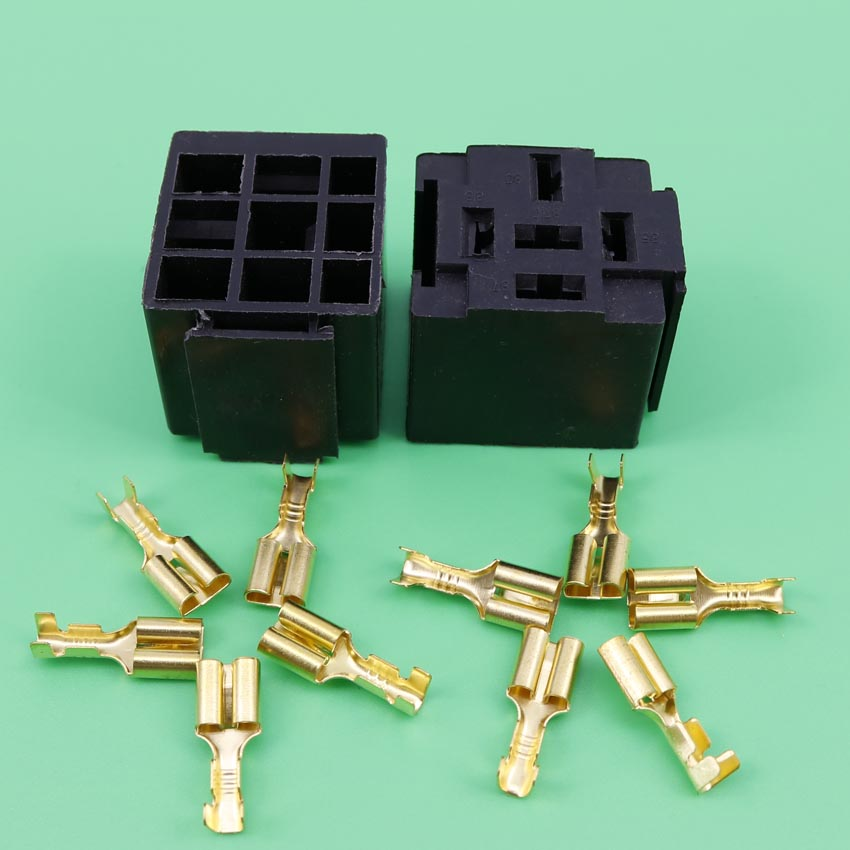 цена на YuXi  5pin 5P  Series Relays car relay socket auto relay connector