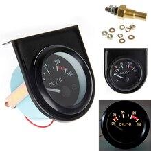 Универсальный 2 дюймов 52 мм светодиодный светильник автомобиль указатель масла Температура датчик температуры в переменного тока, 50-150 градусов JUN-22B