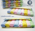 16Pcs/lot HOT Sale America Gerber Baby Face Towel 100%Cotton Baby Towel Nursing Towel Special for Babies Wholesale Free Shipping