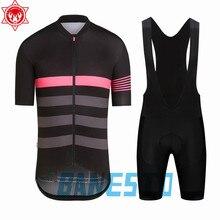 Новинка Мужская одежда для велоспорта Rapha 2018 быстросохнущая с коротким рукавом велосипедная одежда гоночная велосипедная одежда после
