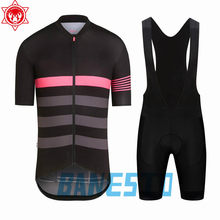 New Men's Rapha Cycling Jersey 2018 Quick-Dry Short Sleeve Cycling Wear Racing Bicycle Clothing Cycling Clothing After(China)