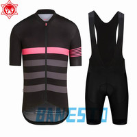 New Men's Rapha Cycling Jersey 2018 Quick Dry Short Sleeve Cycling Wear Racing Bicycle Clothing Cycling Clothing After
