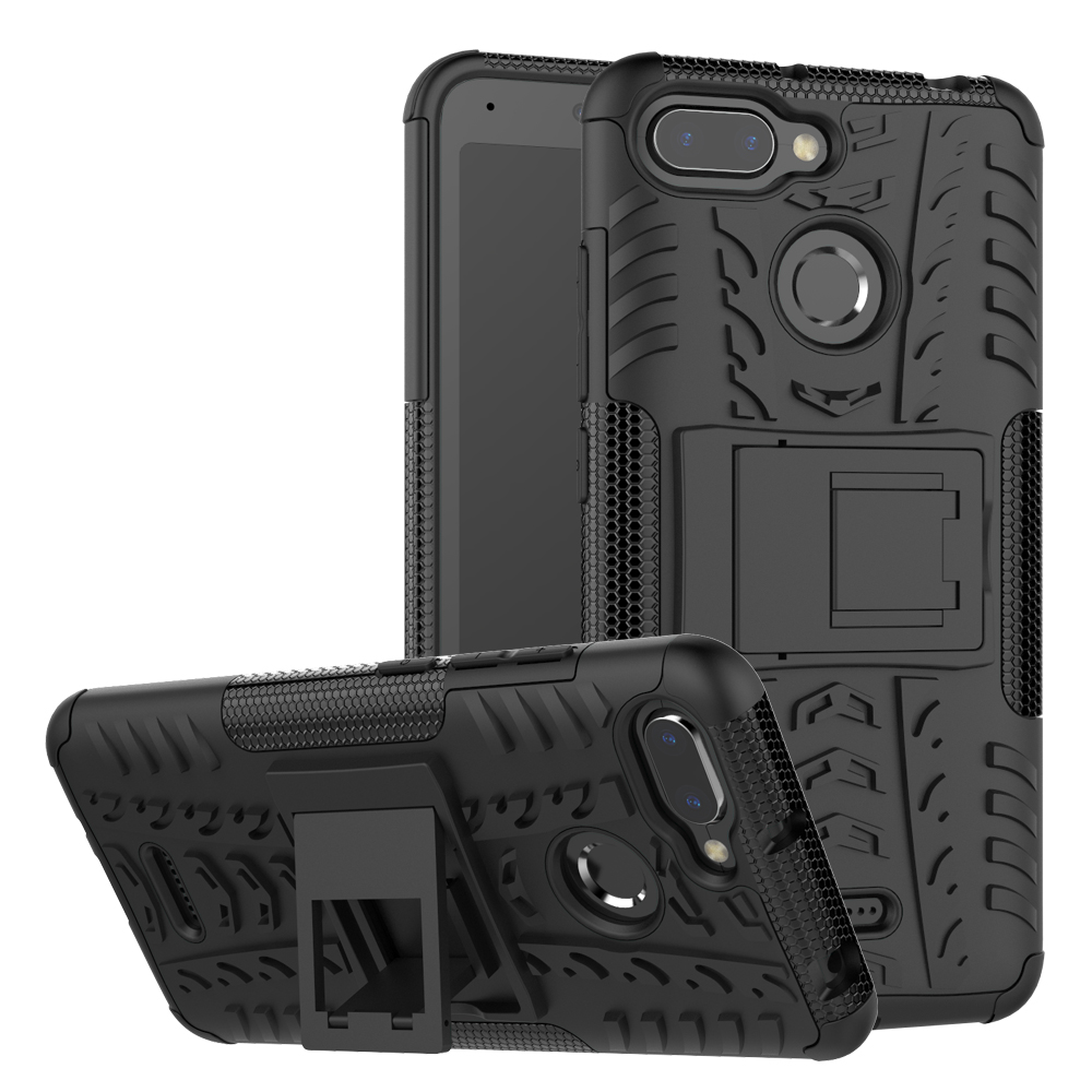 Shockproof Stand Phone <font><b>Case</b></font> For <font><b>Xiaomi</b></font> Redmi Note 6 5 Pro 6A 5A Plus 4 4A 4X 3 3S 5X <font><b>A1</b></font> 6X A2 <font><b>MI</b></font> 8 Pocophone F1 <font><b>Armor</b></font> Cover <font><b>Case</b></font> image