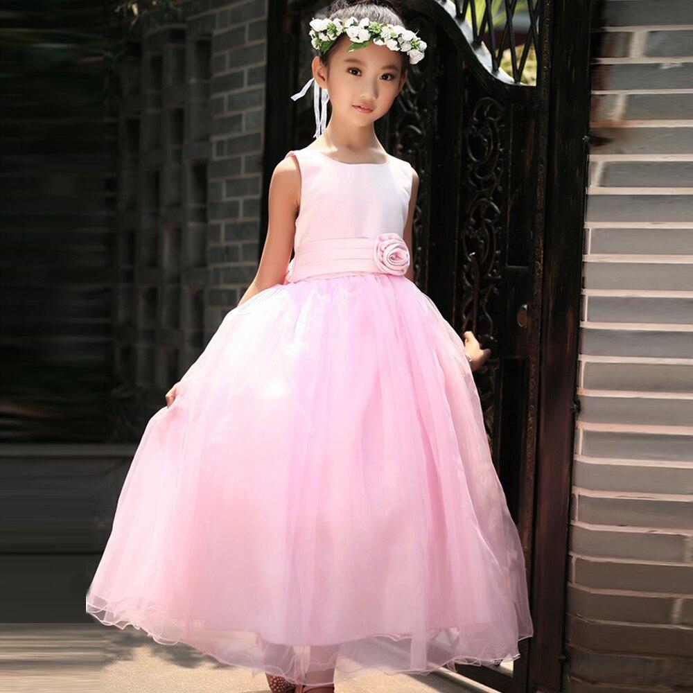 Summer Baby Flower Girl Dresses 2017 For Wedding Party Sweet