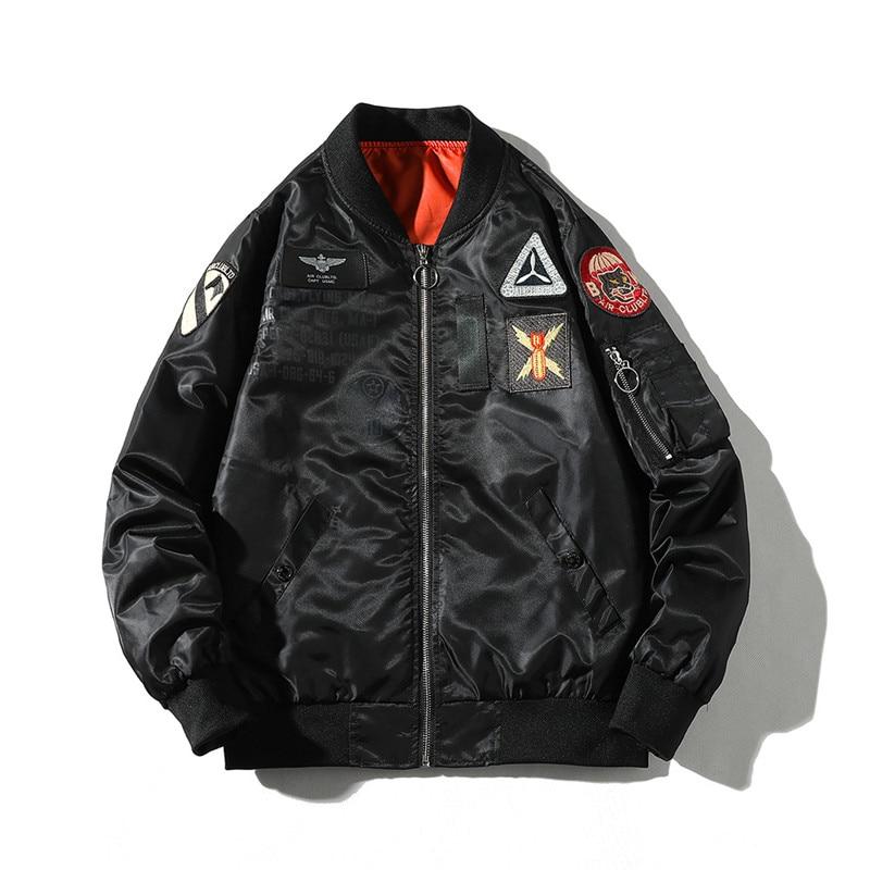 Vestes de bombardier Hip Hop pour hommes MORUANCLE printemps veste de Baseball Letterman pour hommes taille masculine S-4XL