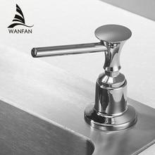 Dispensadores de jabón líquido para cocina 400ML baño cocina botella de plástico fregadero reemplazo mano líquido dispensadores de jabón Spray 2302