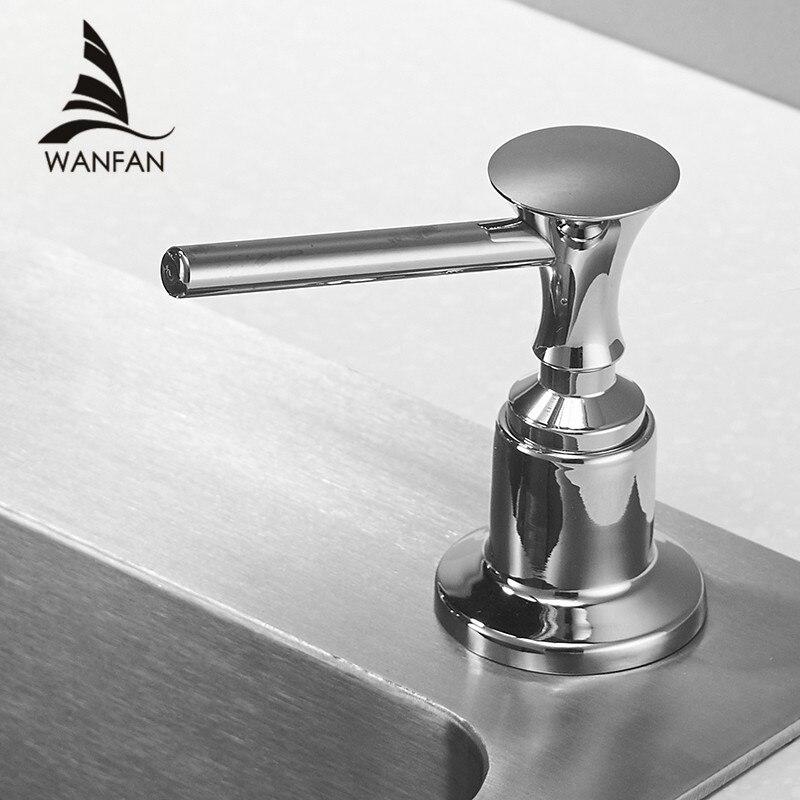 Liquid Seifenspender Für Küche 400 ML Bad Küche Kunststoff Flasche Sink Ersatz Hand Liquid Seifenspender Spray 2302