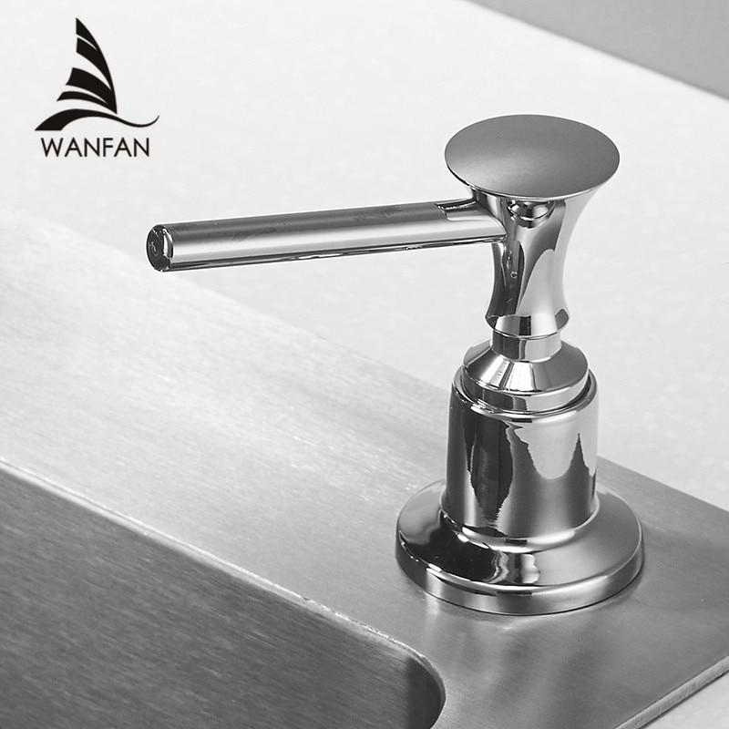 Liquid Soap Dispensers For Kitchen 400ML Bathroom Kitchen Plastic Bottle Sink Replacement Hand Liquid Soap Dispensers Spray 2302