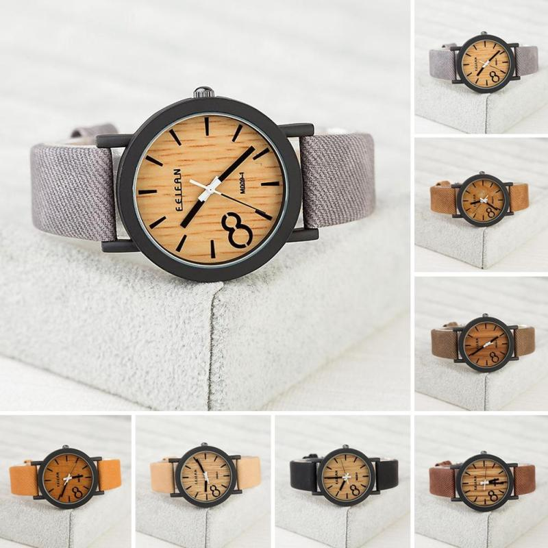 1pc Men font b Watches b font Fashion Luxury Brand Hot Imitation font b Wooden b