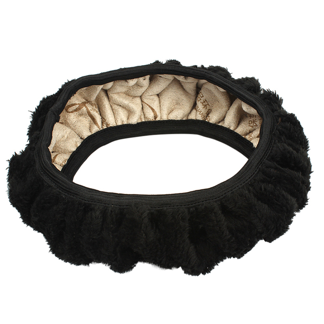 Flexible Plush Universal Car Steering Wheel Covers For Car Styling