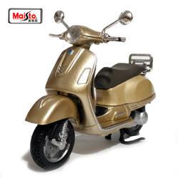 Maisto 1:18 piaggio Vespa GTS 300 (2017) Primavera 150 Сплав мотоцикл литья под давлением модель игрушки для ребенка подарок на день рождения игрушечные лошадки