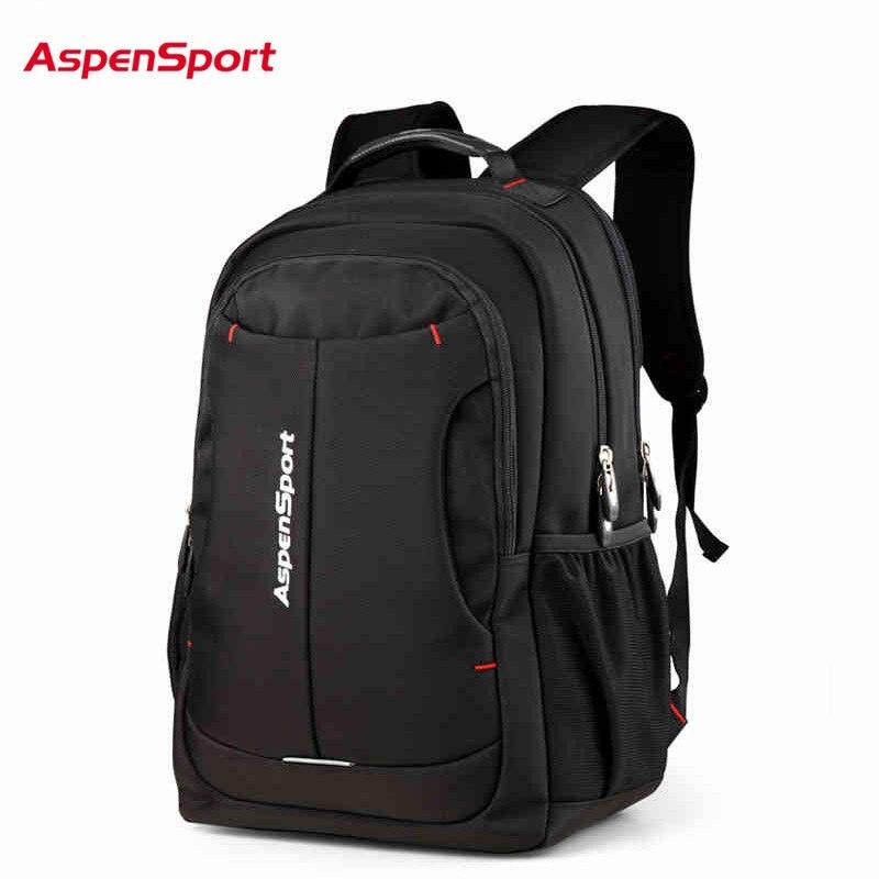 """AspenSport 2018 gorąca nowa marka fajne miejskich plecak mężczyźni kobiety światło Slim minimalistyczny mody kobiet plecak 14 """" 17 """"Laptop Pack w Plecaki od Bagaże i torby na  Grupa 1"""