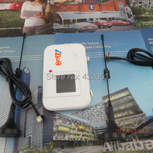 SET of HUAWEI E5372s 4G LTE router & 2 x 5dBi Antenna - white+Thick battery 3560mAh