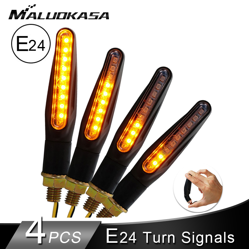 4pcs-motorcycle-turn-signals-light-e24-motorcycles-flowing-water-blinker-flashing-indicator-bendable-tail-stop-signal-for-honda