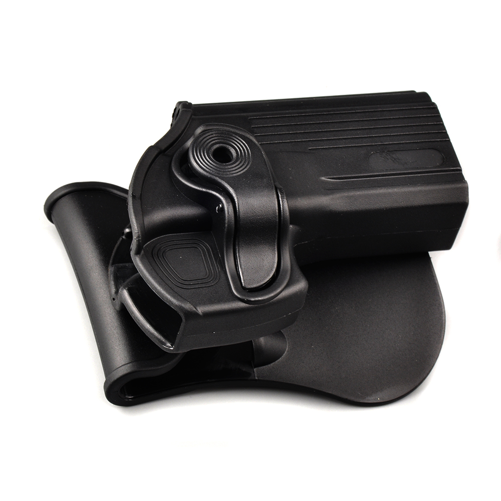 Hunting Pistol Holster Rotates 360 Degrees Right Hand Belt Loop Paddle Platform for for Taurus 24/7 24/7-OSS Paddle