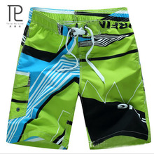 2015 HOT Quick Dry Men Shorts Brand Summer Casual Clothing Geometric Swimwears Beach Shorts Men's Surf Board Shorts #B33