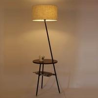 American Nordic NEW remote vertical bedroom floor lamp The living room sofa table lamp floor lamp simple modern ZS118